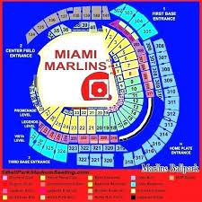 Marlins Park Seating Cinnamora Com