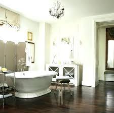 chandelier over bathtub transitional bathroom style at home ideas bubble o chandelier over bathtub