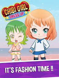 cute anime creator dress up chibi anese make up avatar characters kids games 4