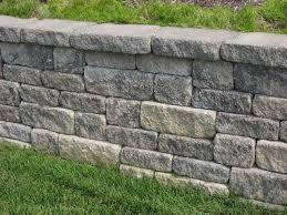 versa lok weathered mosaic wall system