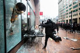 Image result for inauguration riots dc