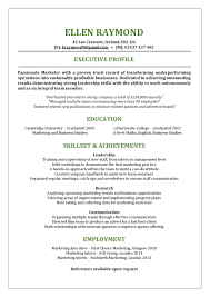 Functional Resume Template Got Something To Hide