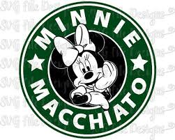 starbucks coffee logo png. Unique Logo Minnie Mouse Macchiato Disney Starbucks Coffee Logo Cutting File   Printable Clipart In Svg Eps Intended Png