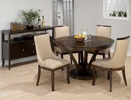 round dining room wooden table sets conference intended for 5 piece prepare 2