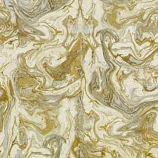 Small Picture Gold Abstract Upholstery Fabric Metallic Fabric by the Yard
