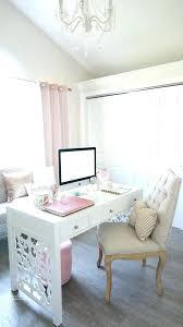 feminine office decor. Feminine Home Office Decor Chic Decorating Ideas Desk Tour Summer A
