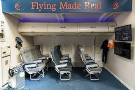 mr mockord has even gone to the trouble of installing airline seats into the simulator to