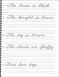 cursive word practice pictures in cursive book a 047728 details rainbow resource