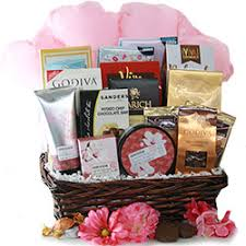 spa licious chocolate spa gift basket