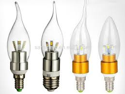 1 candle bulb mini dimmable led chandelier light bulb image 1