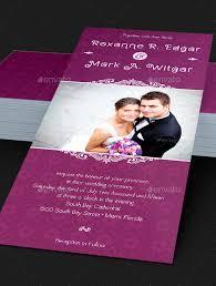 Wedding Invitation Template Photoshop Beautiful 53