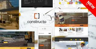 Construction Website Templates Interesting Constructo Website Templates From ThemeForest