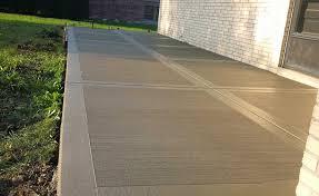 concrete patio patio ideas patio cost