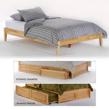 High-end Twin XL Wood Beds | Humble Abode