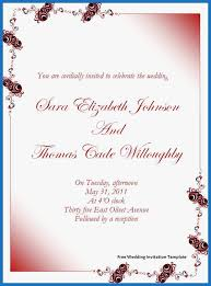71 Admirable Photograph Of Invitation Templates Word