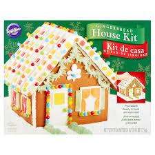 Gingerbread Kitchen Curtains Wilton Gingerbread House Kit 43 Oz Walmartcom
