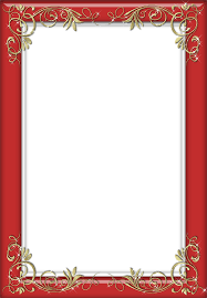 Red Photo Frames Holiday Red Transparent Frame Gallery Yopriceville High Quality