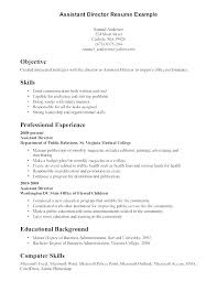 Job Resume Format Classy Images Resume Examples Objective In Example With Job R