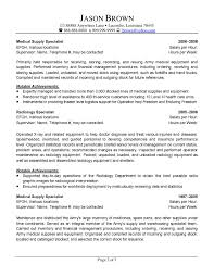 Records Specialist Sample Resume Medical Logistics Specialist Resume Resume For Logistics Specialist 24