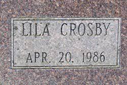 Lila Crosby Preston (1895-1986) - Find A Grave Memorial