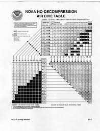 Decompression Chart Tables Vs Computers Is It Either Or Deeperblue Com