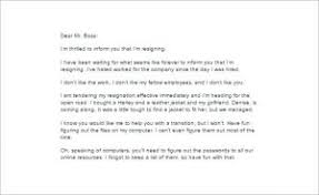 Ideas Of Email Resignation Letter Template 19 Free Sample Example ...