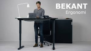 Simple Adjustable Height Desk Ikea For Ideas