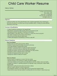 Sample Resume For Child Care Teacher Sample Resume For Daycare Worker Sample Resume Of Child Care Weekly 7