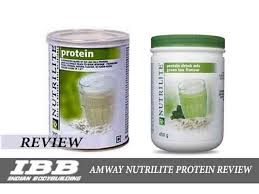 amway nutrilite plant protein powder review and in india