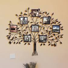 Amazing Ideas Family Tree Picture Frame Wall Hanging Bold Home In Wrought  Iron Family Tree Picture Frame