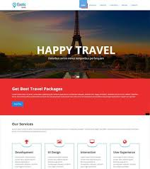 travel agency templates free