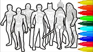 The first real superhero and a true marvel legend, known from the classic comic series. Justice League Coloring Pages Wonderwoman Superman Flash Batman Coloring Pages Youtube