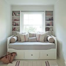 Modern Bedroom Shelves Daybed With Storage Bedroom Modern With Bolsters Books Built In