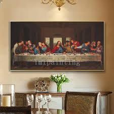 framed wall art catholic painting last