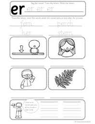 Easy to follow information and instructions; Sims Free Er Phonics Worksheets