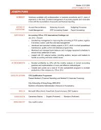 Resume For Accounting Cv Resume Accountant Accounting Resume Keywords Yralaska 12