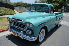 All Chevy chevy apache 1957 : 59 Chevrolet 235 Fleetside Long Bed | Kool Vehicle | Pinterest ...