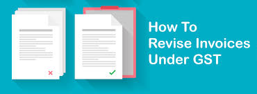 Difference Between Invoice And Receipt Extraordinary How To Revise Invoice In GST Important Things To Know