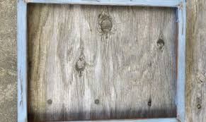 distressed solid wood frame 11x14 photo frame art frame canvas