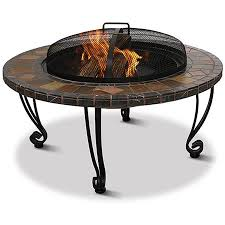 uniflame fire pit. Uniflame Slate And Marble Fire Pit