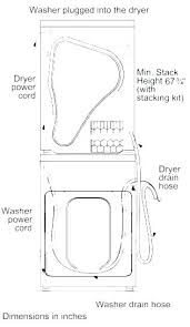 Washer And Dryer Sizes Chart Standard Washer Dryer Dimensions Argotcomunicacion Com