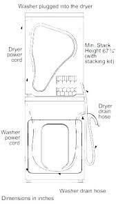 Standard Washer Dryer Dimensions Argotcomunicacion Com