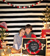 Christmas Picture Backdrop Ideas Easy Christmas Photo Backdrop Our Fifth House