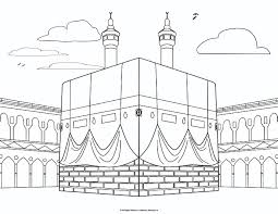 Coloring Pages For Kids Islamic With Al Isra Wal Miraj Page Dua A