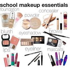 makeup essentials by aesthete114 on polyvore