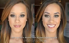 jenmateofrontbeforewtextfin lauren wood lolo gets permanent makeup