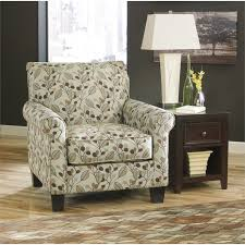 ashley danely fabric accent chair in dusk 3550021 patterned accent chairs a75
