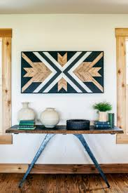reclaimed wood wall southwestern wall decor as bedroom wall decor