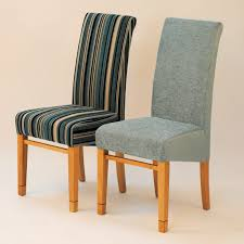 Teal Dining Room Chairs Miles Oak Amp Teal Fabric Taper Back Dining Chairs Pair Hexagon