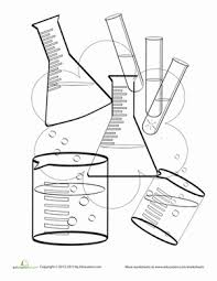 Small Picture Scientist Tools Coloring Pages